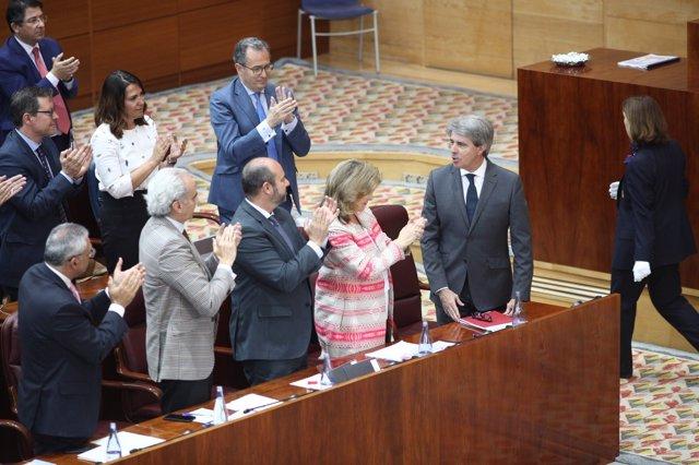 El nuevo presidente de la Comunidad de Madrid, Ángel Garrido