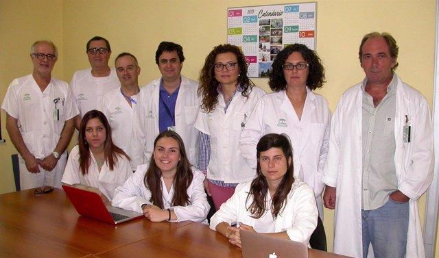 Equipo investigador del Hospital de Valme de Sevilla
