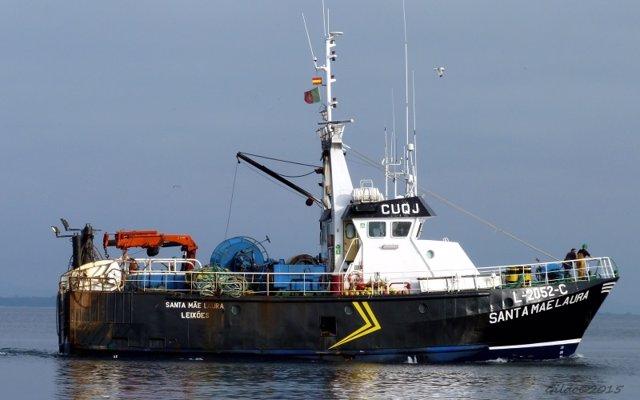 El pesquero portugues Santa Mae Laura