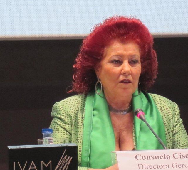 Consuelo Ciscar en imatge d'arxiu