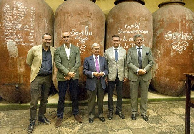 Presentación de Sevilla como 'Capital de la Cultutra de la Tapa'
