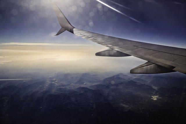 Avión. Aerolínea. Viaje