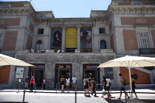 Recursos de turistas en el Museo del Prado