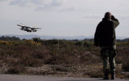 Interceptado por F-16 portugueses un helicóptero con tripulación rusa sin plan de vuelo que entró desde España