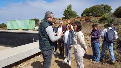 Las obras de recuperación y conservación de La Dehesa (El Hierro) acabarán en julio