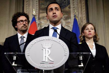 """El M5S asegura que el nuevo primer ministro de Italia será escogido """"en las próximas horas"""""""