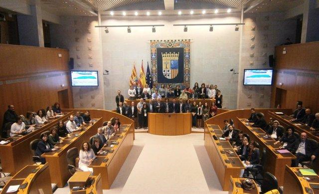 Inauguración de la XXII Conferencia de Intergrupos por el pueblo saharaui.