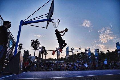 Unicaja se impuso en el 3x3 del Movistar Street Basket en Málaga