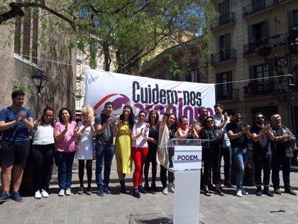 """Laura Pérez presenta candidatura para liderar Podem Barcelona y """"recuperar la ilusión"""""""