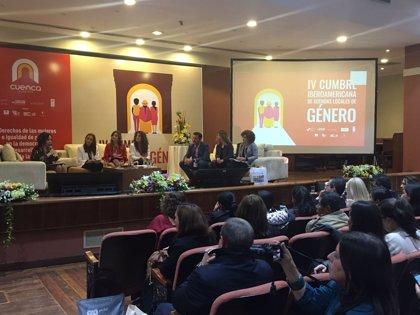 Diputación de Huelva participa en una cumbre en Ecuador para exponer desafíos de las políticas de igualdad provinciales