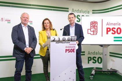 """El PSOE de Almería pide a PP y Cs apoyar sus enmiendas para """"evitar ser la última provincia del país en inversión"""""""