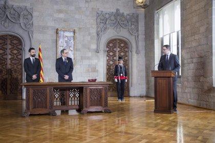 Torra nombra en su Govern a Aragonès, Artadi, Turull, Rull, Comín y Maragall
