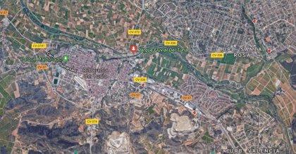 Extinguido el incendio forestal originado cerca de una urbanización de Riba-roja