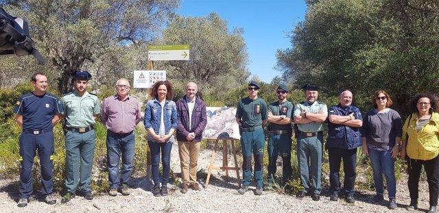 Protección Civil y Emergencias señalizan trece puntos 'complicados' para los excursionistas en la Tramuntana