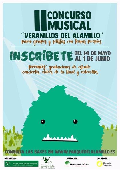 La Junta convoca el concurso musical 'Veranillos del Alamillo' en Sevilla para cantantes y grupos emergentes