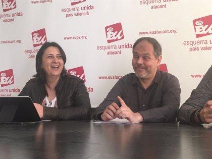 """Pérez Garijo (EUPV) apuesta en Alicante por """"reeditar o ampliar las confluencias"""" de cara a las elecciones de 2019"""