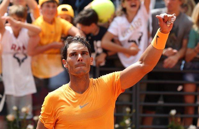 Nadal derrota a un aguerrido Djokovic y buscará su octavo título en Roma