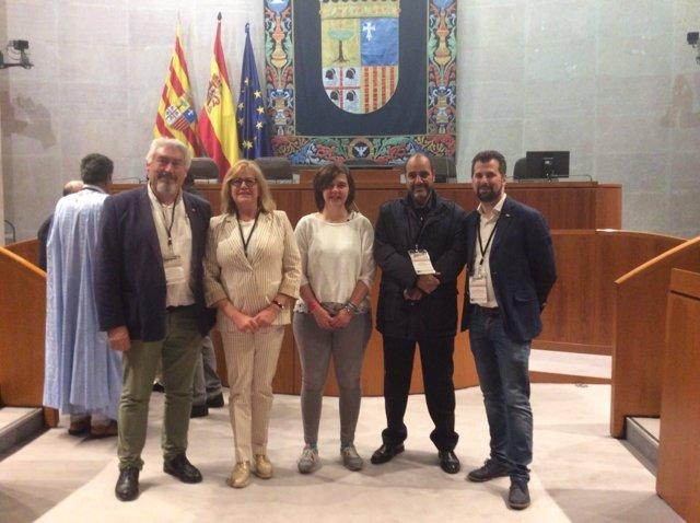 Zaragoza.- Aguado, González, Del Barrio, Labat y Tudanca