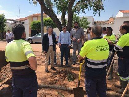 Técnicos de Junta, diputación y CHG estudiarán cómo evitar nuevas riadas en Guareña
