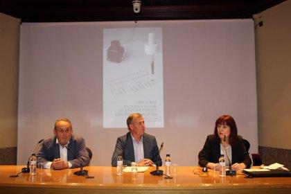 El Congreso '50 años de Poesía Española' de Barbastro (Huesca) abre nuevas vías de colaboración entre profesionales