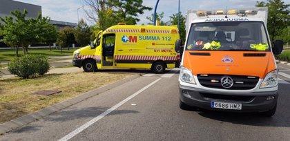 Grave una niña de 13 años tras ser arrollada por un autobús interurbano en Leganés