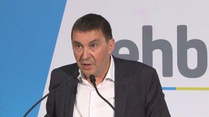 """Otegi dice a Pedro Sánchez que """"supremacismo es defender que solo hay una nación, la española"""""""