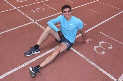 """Bruno Hortelano regresa con su mejor marca personal en 400 metros: """"He vuelto para quedarme"""""""