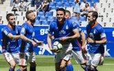 Foto: El Oviedo mantiene su lucha por los 'play-off' y Mata guía al Valladolid en Lorca