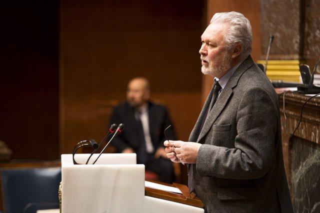 El diputado regional José Soria