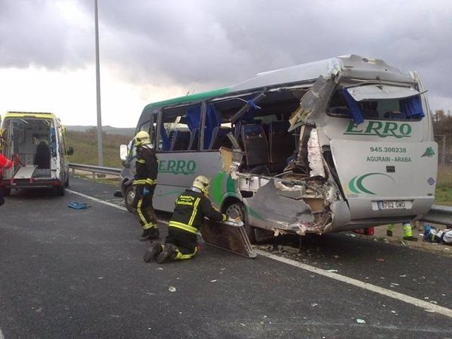 Accidente de autobús (archivo)