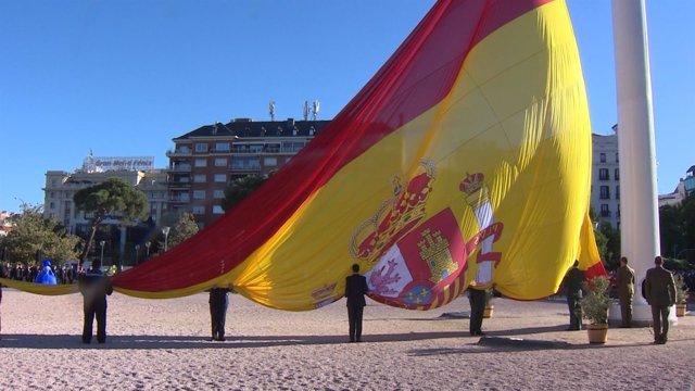 Izado Solemne de Bandera en Madrid por la fiesta de San Isidro