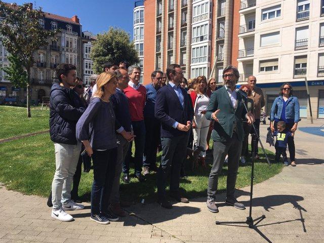 Acto del PP en Vitoria
