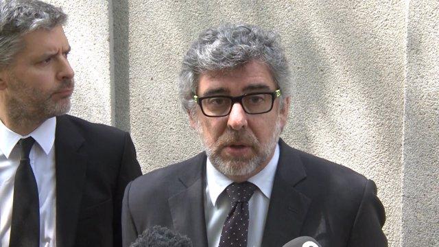 Jordi Pina en el Tribunal Supremo