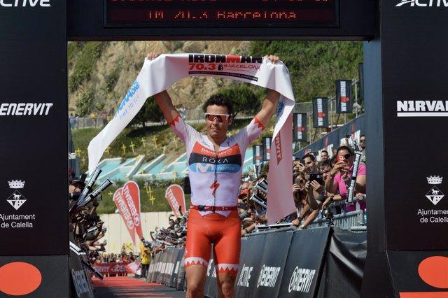 Javier Gómez Noya Ironman 70.3 Barcelona