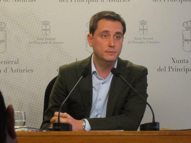 El diputado del PP en la Junta General David González Medina