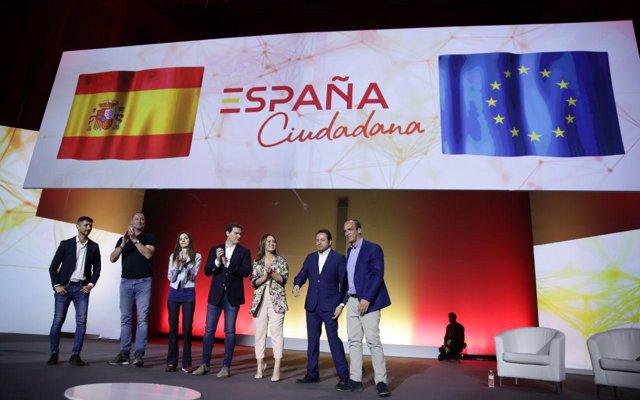 Ciudadanos llança la plataforma civil Espanya Ciutadana per recuperar 'l'orgull de sentir-se espanyol'