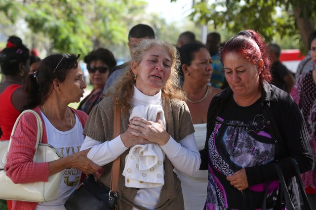 Relatives of victims of the Boeing 737 plane that crashed after taking off from