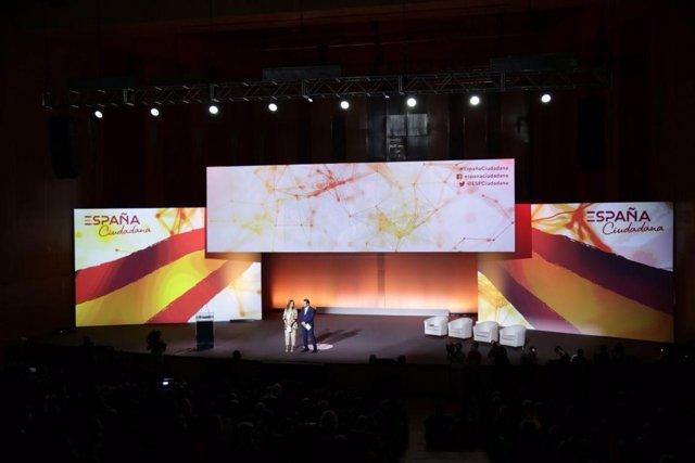 La plataforma civil España Ciudadana