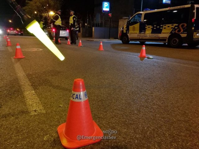 Control de la Policía Local de Sevilla
