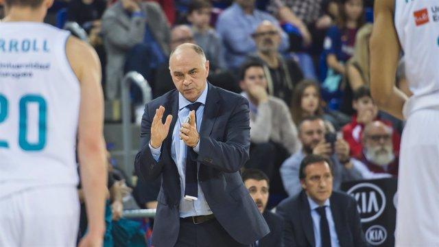 Pablo Laso, entrenador del Real Madrid de baloncesto