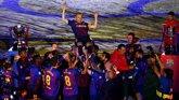 """Foto: Valverde: """"Hemos ganado y despedido a Andrés con todos los honores"""""""