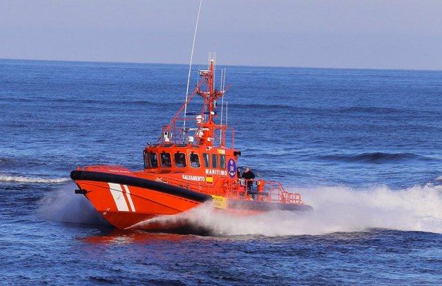 Embarcación Salvamento Marítimo