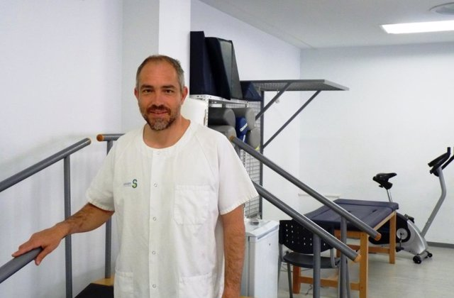 Fisioterapeu autor del estudio del túnel carpiano