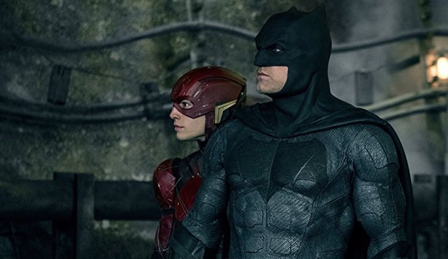 The Flash y Batman Justice Leage