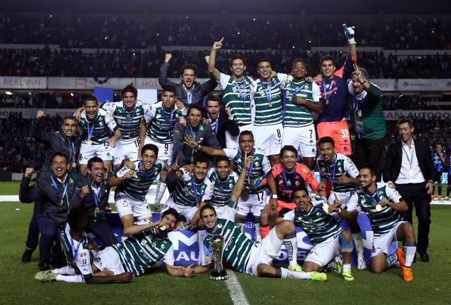 Santos Laguna Conquistó El Domingo Su Quinto Título En El Fútbol Mexicano