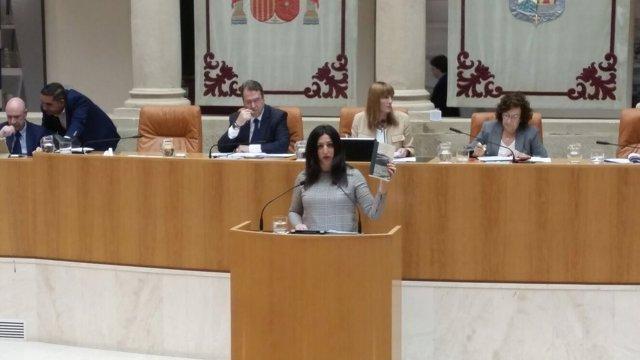 La diputada de Ciudadanos Rebeca Grajea