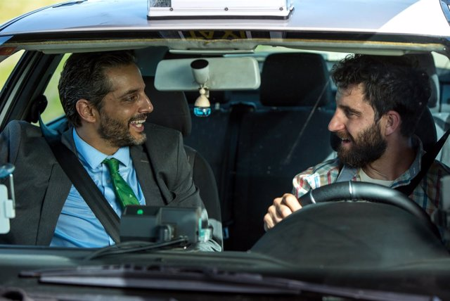 Dani Rovira y Joaquín Furriel en Taxi a Gibraltar