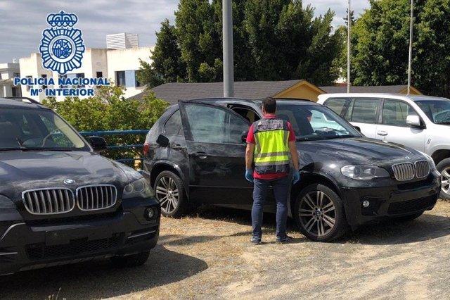 Todoterreno málaga vehículo alijo droga Policía Nacional robos coche transporte