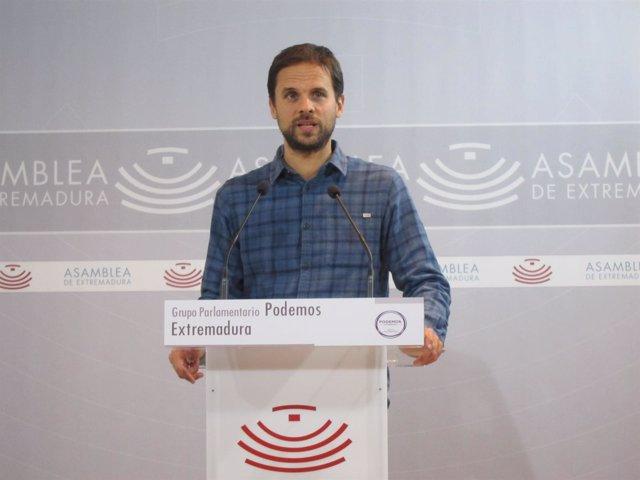 Álvaro Jaén en una imagen de archivo