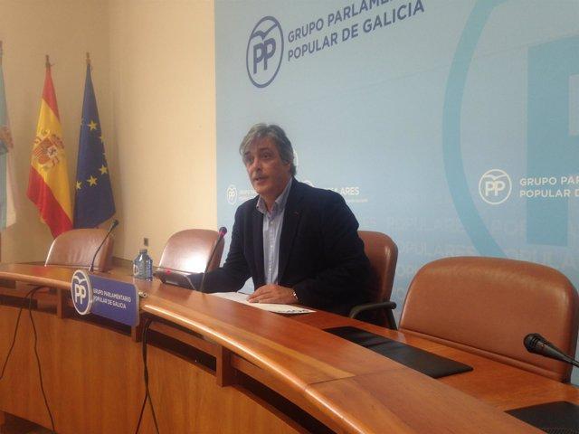 Pedro Puy, portavoz parlamentario del PPdeG